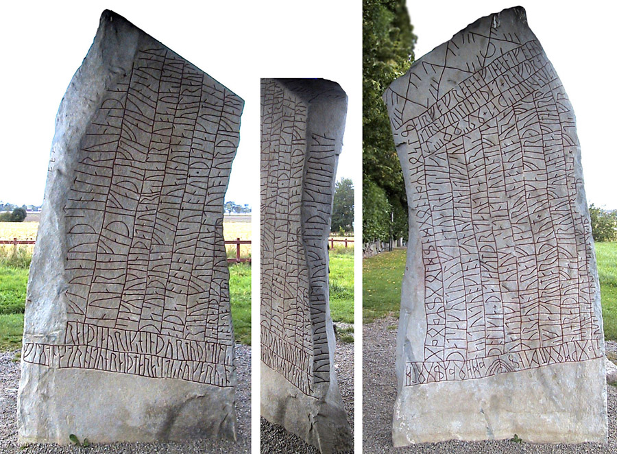 Rune stones and rock carvings in sweden quot rökstenen